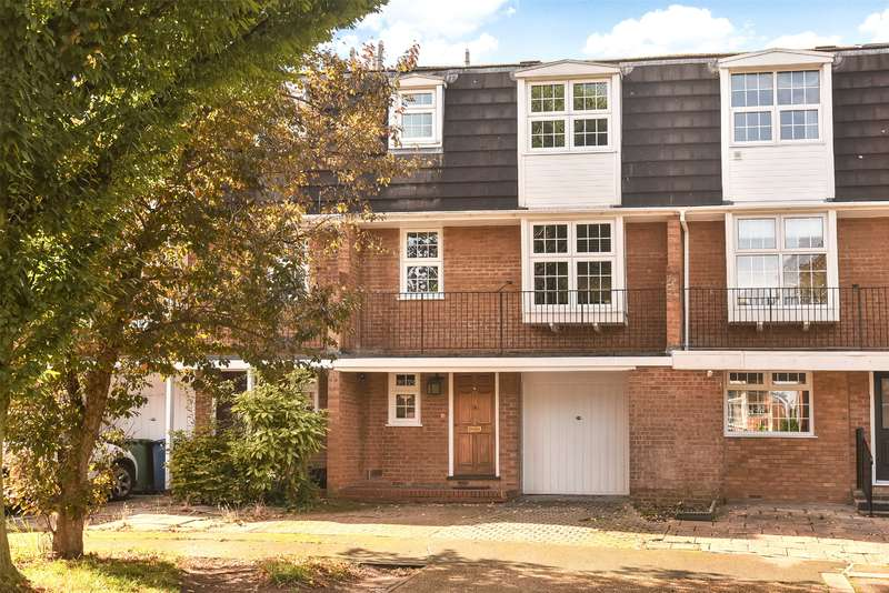 3 Bedrooms Terraced House for sale in Westbury Lodge Close, Pinner, Middlesex, HA5