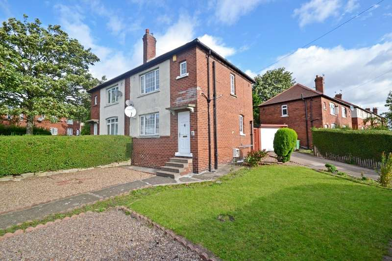 3 Bedrooms Semi Detached House for sale in Irwin Crescent, Wakefield