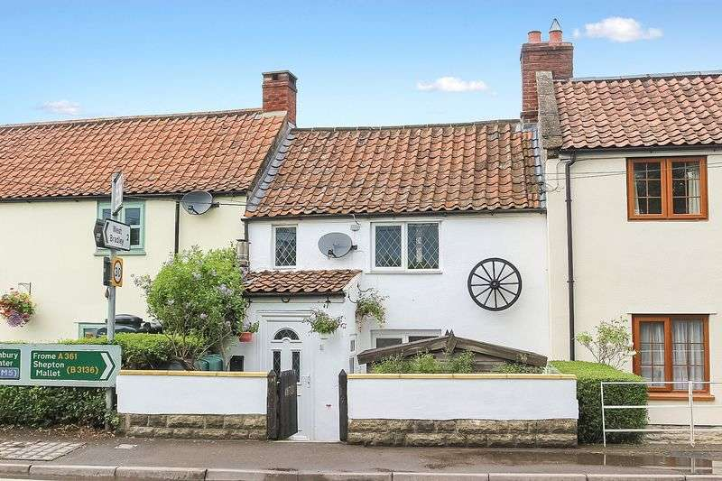 2 Bedrooms Terraced House for sale in Newtown, West Pennard