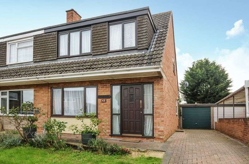 3 Bedrooms Semi Detached House for sale in Baker Road, Abingdon