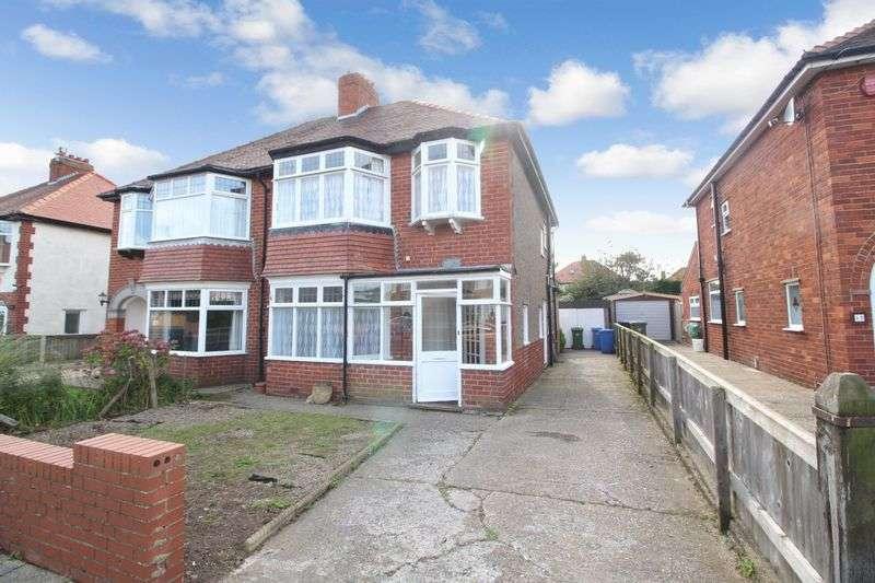 3 Bedrooms Semi Detached House for sale in Cornelian Avenue, Scarborough