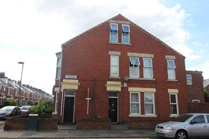 2 Bedrooms Flat for sale in Whitefield Terrace, Newcastle Upon Tyne, NE6