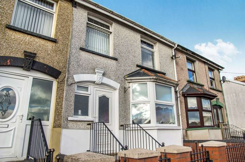 3 Bedrooms Terraced House for sale in Garden City, Rhymney, Tredegar