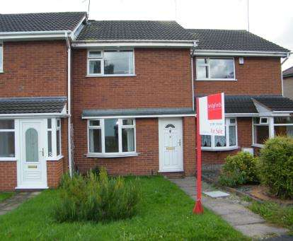 2 Bedrooms Terraced House for sale in Woodlands Close, Stafford
