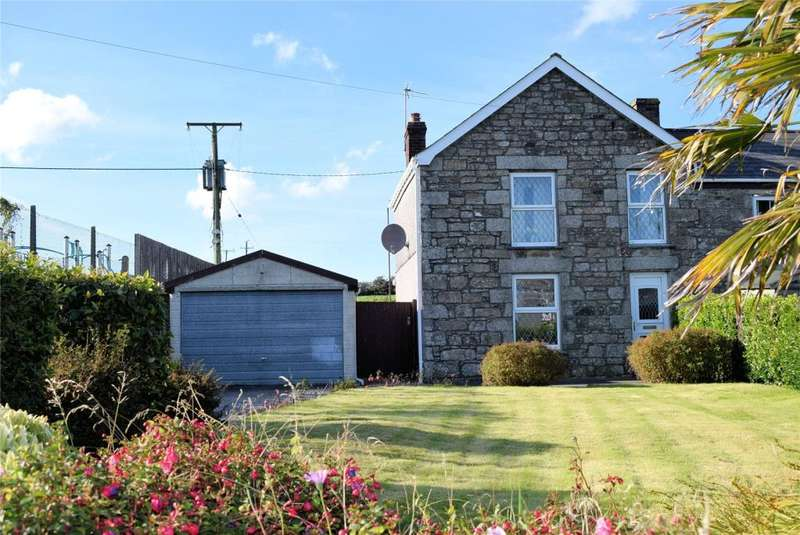 3 Bedrooms End Of Terrace House for sale in Porkellis, Near Helston