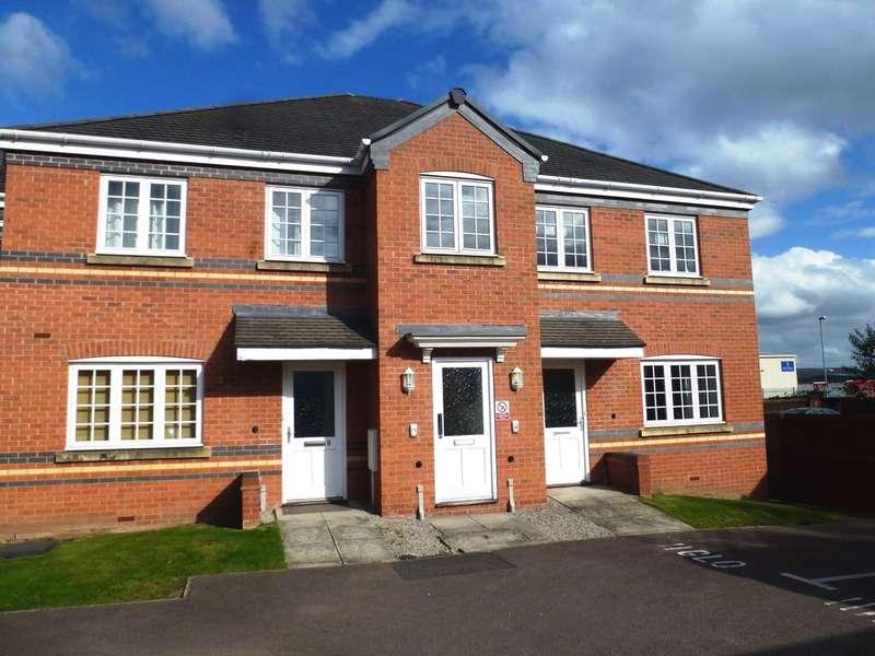 2 Bedrooms Flat for sale in Glover Road, Castle Donington, Derby