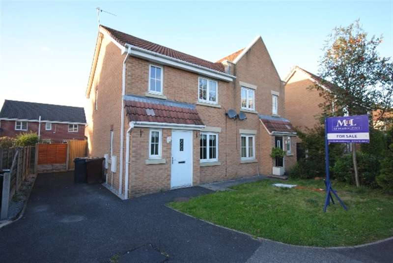 3 Bedrooms Semi Detached House for sale in Wessex Drive, Springview, Wigan, WN3