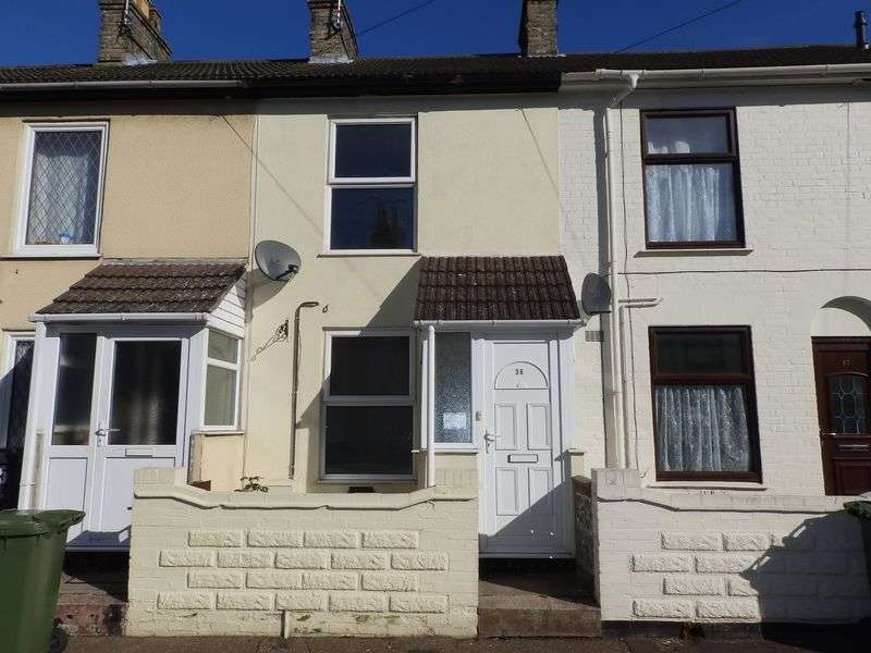 2 Bedrooms Terraced House for sale in Trafalgar Road West, Gorleston, Great Yarmouth