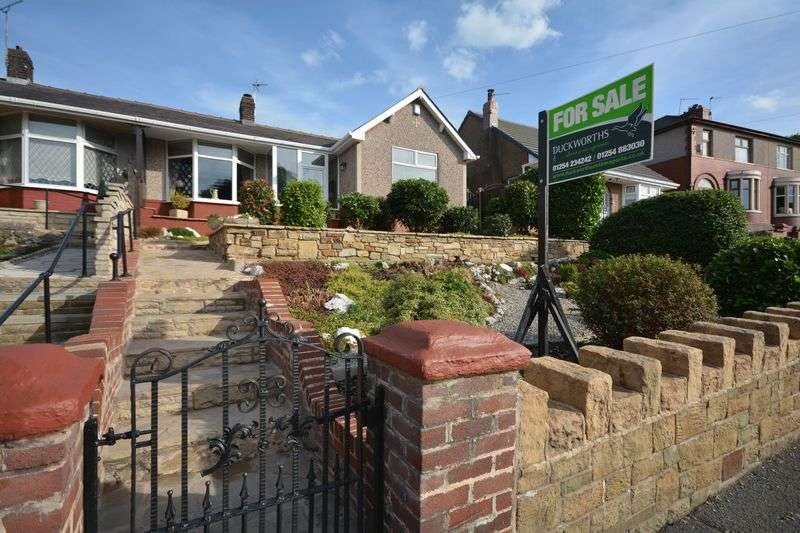 2 Bedrooms Semi Detached Bungalow for sale in Whalley Road, Clayton Le Moors