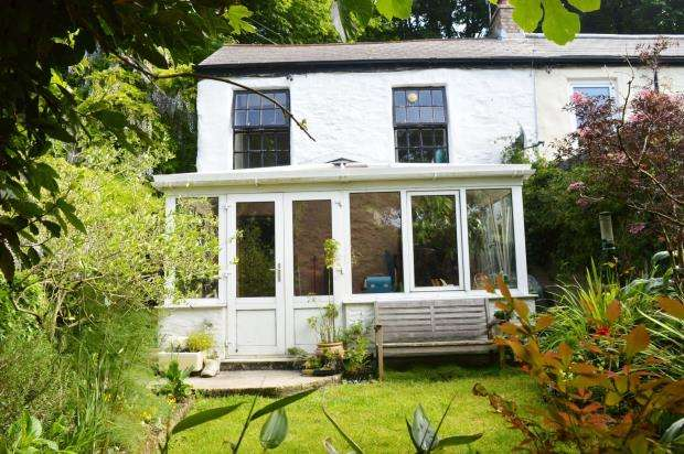 2 Bedrooms End Of Terrace House for sale in Back Lane, Angarrack, Hayle, Cornwall
