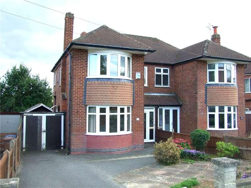 3 Bedrooms Semi Detached House for sale in Allestree Lane, Allestree, Derby, Derbyshire, DE22