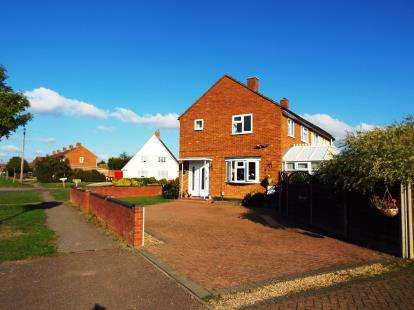 3 Bedrooms Semi Detached House for sale in Western Way, Letchworth Garden City, Hertfordshire, England