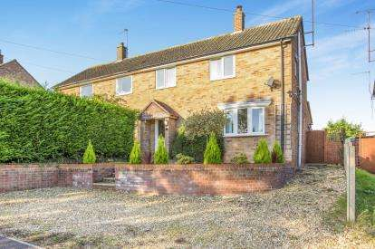 3 Bedrooms Semi Detached House for sale in Papworth Road, Graveley, St. Neots, Cambridgeshire