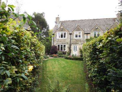 3 Bedrooms End Of Terrace House for sale in Boxwood Close, Kingscote, Tetbury, Gloucestershire