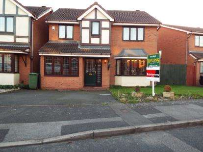 4 Bedrooms Detached House for sale in Valleyside, Pelsall, Walsall, West Midlands