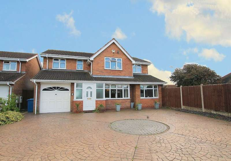 5 Bedrooms Detached House for sale in Avill, Hockley,Tamworth B77 5QF