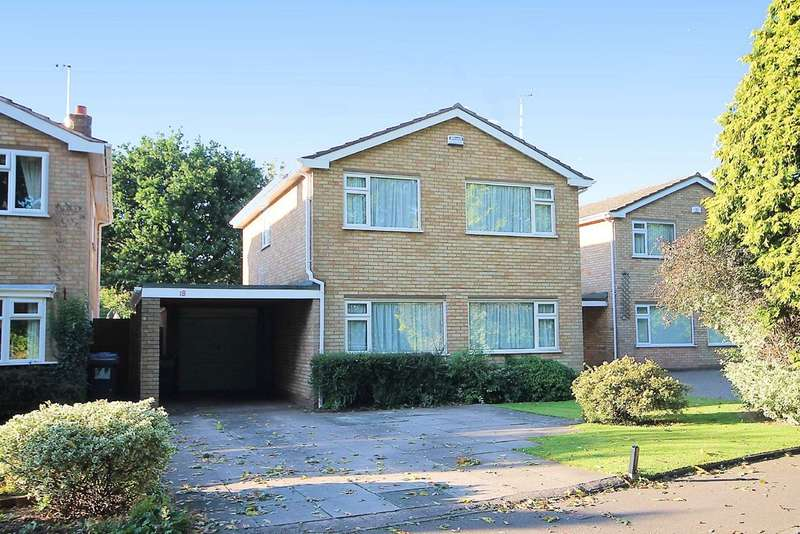 4 Bedrooms Detached House for sale in Athelstan Way, Coton Green, Tamworth, B79 8LB