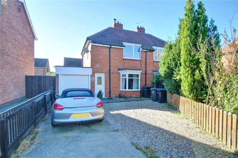 3 Bedrooms Semi Detached House for sale in Rokeby Square, Merryoaks, Durham, DH1