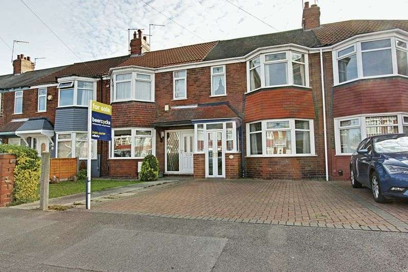 3 Bedrooms Terraced House for sale in Reldene Drive, Hull