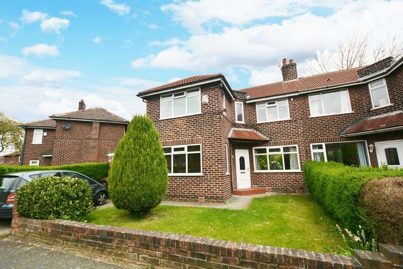 3 Bedrooms Semi Detached House for sale in Penarth Road, Northenden, Manchester