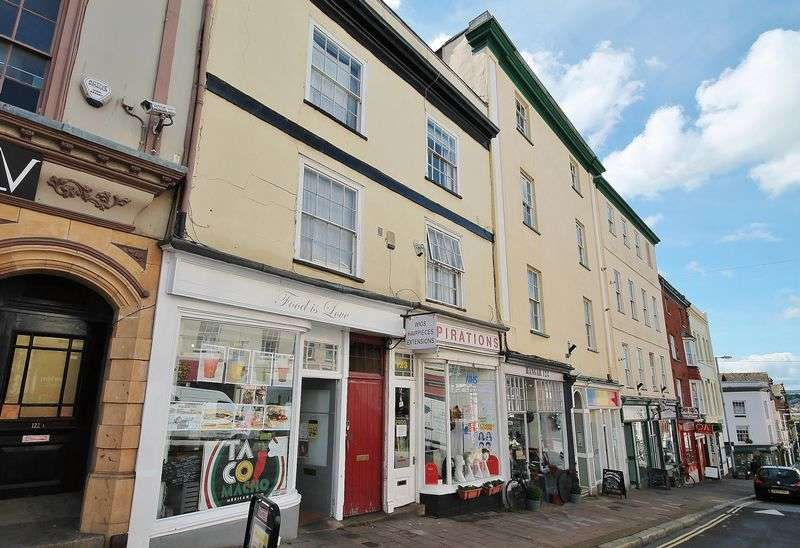 2 Bedrooms Commercial Property for sale in Shop and Maisonette, Fore Street, Exeter