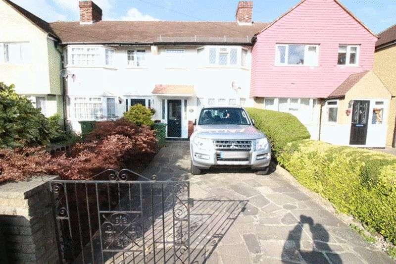3 Bedrooms Terraced House for sale in Dorchester Road, WORCESTER PARK, Surrey