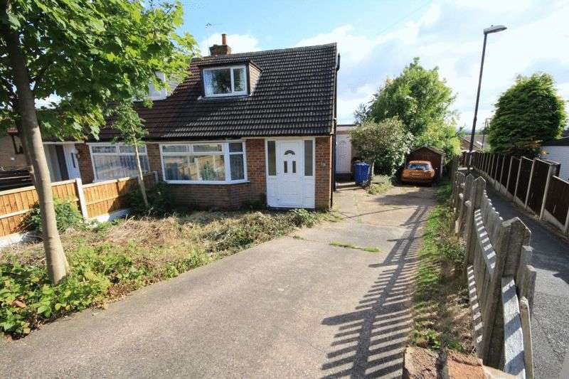 3 Bedrooms Semi Detached House for sale in CLOVER CLOSE, SPONDON