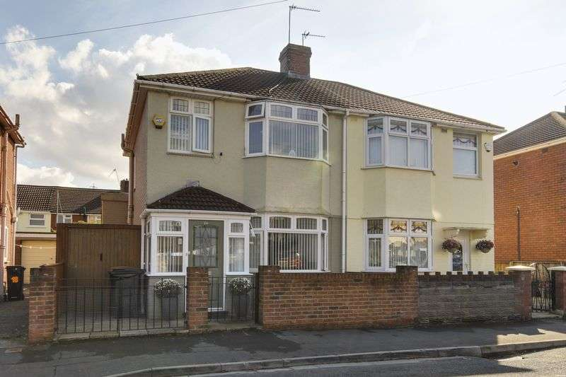 3 Bedrooms Semi Detached House for sale in Lime Close, Newport