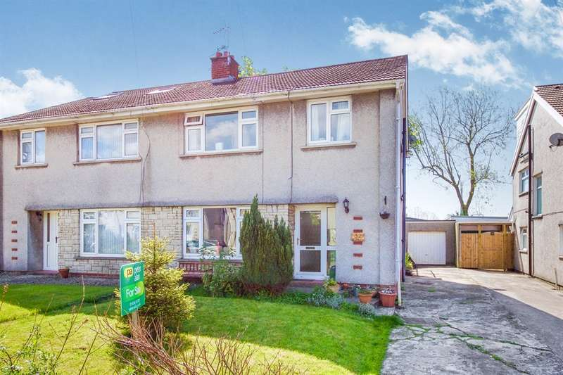 3 Bedrooms Semi Detached House for sale in Lawrence Close, Bridgend