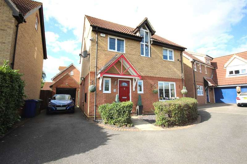4 Bedrooms Detached House for sale in Juniper Drive, South Ockendon