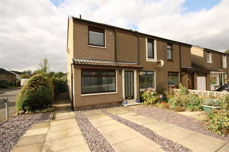3 Bedrooms Semi Detached House for sale in Redpath Drive, Falkirk