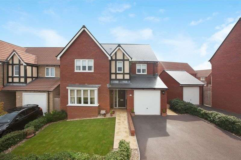 4 Bedrooms Detached House for sale in Cornflower Close, Wilstock Village, Bridgwater