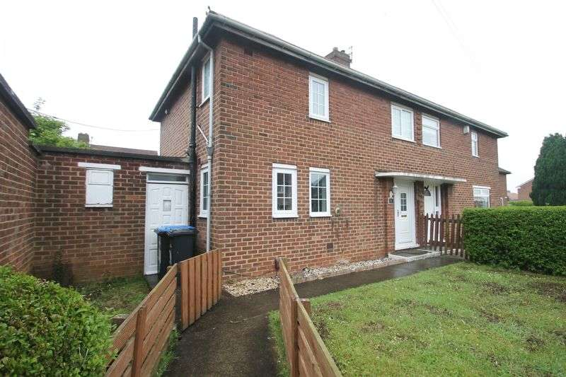2 Bedrooms Semi Detached House for sale in Barsby Green, Berwick Hills