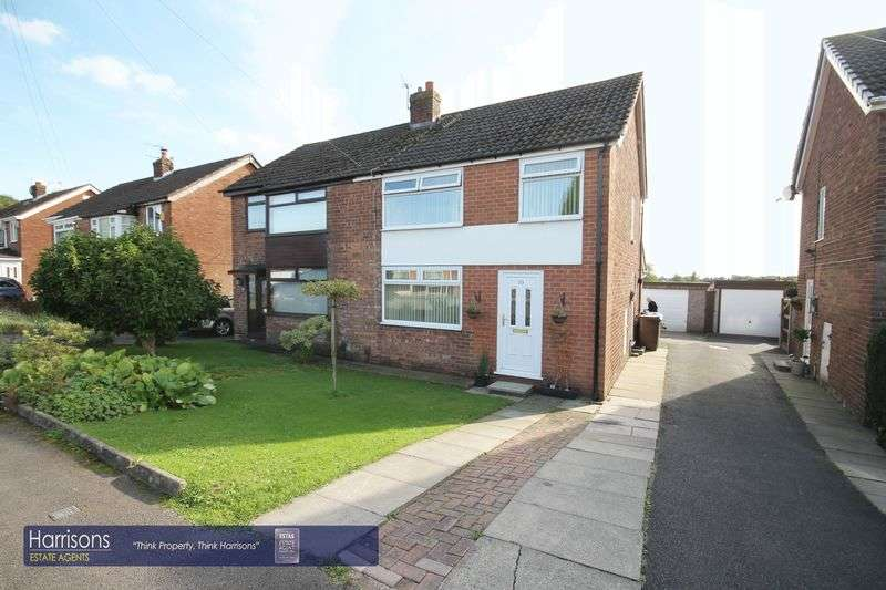 3 Bedrooms Semi Detached House for sale in Hertford Road, Tyldesley, Manchester, Greater Manchester.
