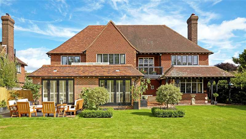 5 Bedrooms Detached House for sale in Whybourne Crest, Tunbridge Wells, Kent, TN2