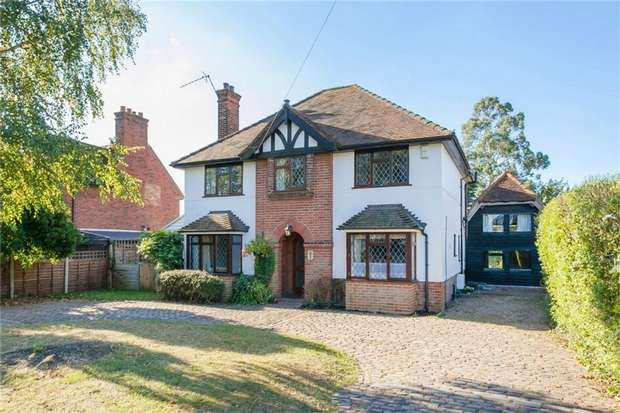 4 Bedrooms Detached House for sale in 7 Somerset Way, Richings Park, Buckinghamshire