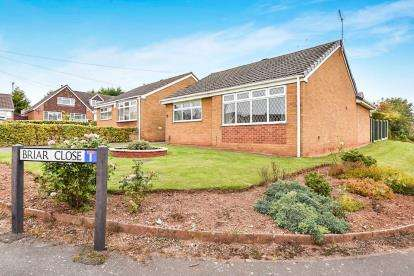 2 Bedrooms Bungalow for sale in Briar Close, Chaddesden, Derby, Derbyshire