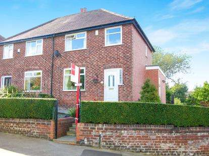 3 Bedrooms Semi Detached House for sale in Deneside Crescent, Hazel Grove, Stockport, Cheshire