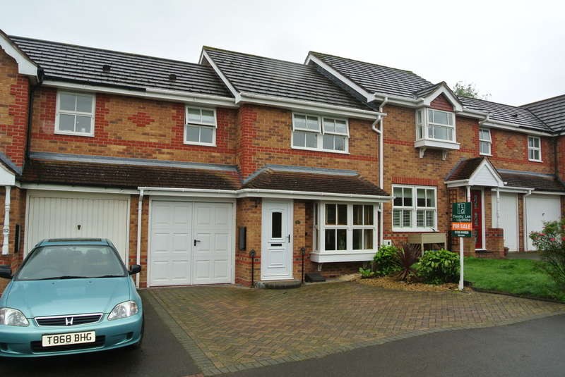 3 Bedrooms Terraced House for sale in Shannon Way, Evesham