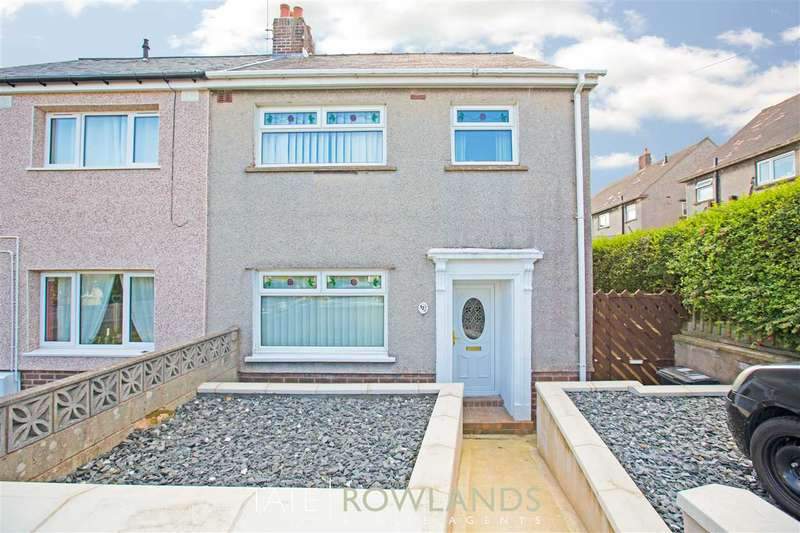 3 Bedrooms Semi Detached House for sale in Maes Lygan, Pentre Halkyn