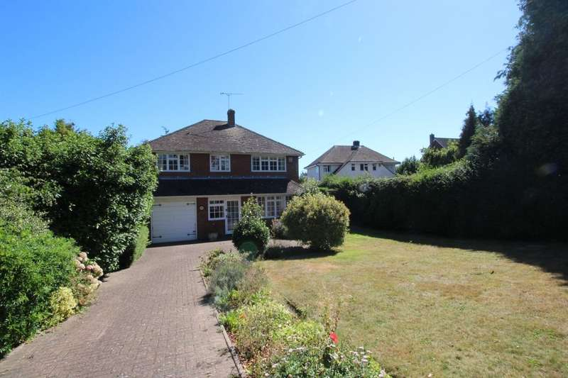 4 Bedrooms Detached House for sale in Larkenshaw Hawksdown Road, Walmer, Deal, CT14