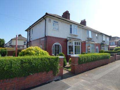 3 Bedrooms Semi Detached House for sale in Fulshaw Road, Ashton-On-Ribble, Preston, Lancashire