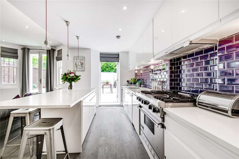 2 Bedrooms Flat for sale in Sinclair Gardens, London, W14