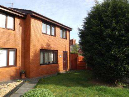 3 Bedrooms Semi Detached House for sale in Nathaniel Court, Platt Bridge, Wigan, Greater Manchester, WN2