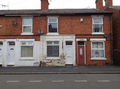 2 Bedrooms Terraced House for sale in Lonsdale Road, Radford, Nottingham, Nottinghamshire