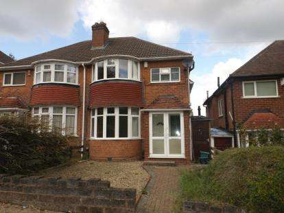 3 Bedrooms Semi Detached House for sale in Lickey Road, Rednal, Birmingham, West Midlands