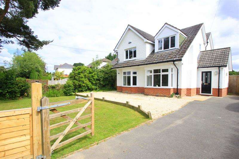 4 Bedrooms Detached House for sale in Manor Road, Verwood