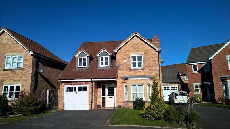 4 Bedrooms Detached House for sale in marigold way, st helens, st helens, WA9 4EF