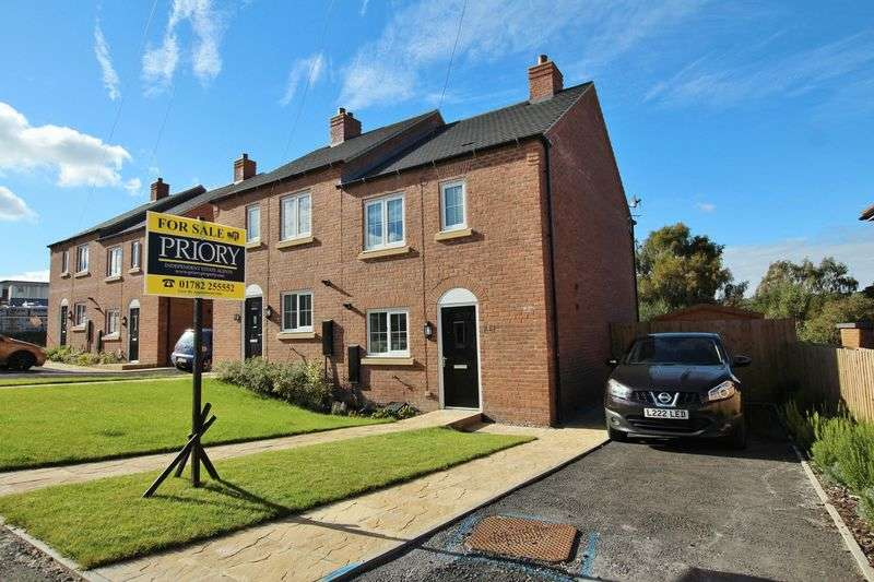3 Bedrooms Semi Detached House for sale in Senn Row, Biddulph
