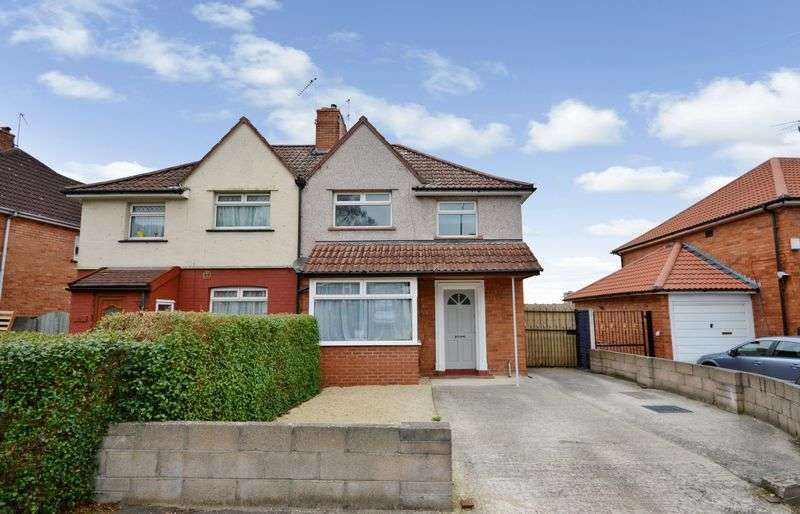 3 Bedrooms Semi Detached House for sale in Glyn Vale, Bristol